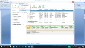 Uruchomienie programu Macronit Disk Partition